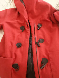 Brand new Red trench coat