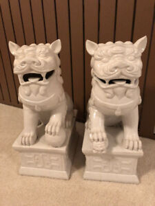 Fu Dogs - $75.00 for the pair