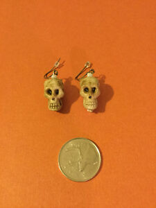 Halloween Skulls Earrings