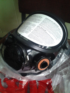 3M788T Fullface siliconreusable gas mask