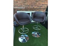 Bar stools x2. Excellent condition.
