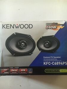 New never used kenwood 240w speakers