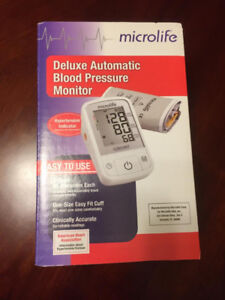 Microlife delux automatic blood pressure monitor
