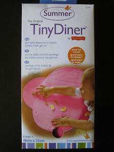 Brand New Summer Infant Tiny Diner Portable Placemat (pink)