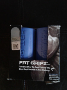 Fat Gripz - bicep and arm builder (workout equipment)