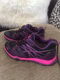 North face walking trainers size 7