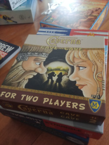 Board Games for sale. Lots of 2 player games, new and old.
