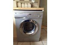 Lg 7kg Washing machine silver