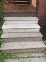 GREAT Concrete Steps - FREE!!!