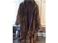 Per una faux fur coat