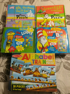 4 Dr.Suess puzzles