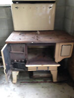 Antigue Clark Jewel Wood burning Cookstove