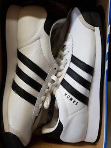 Adidas Samoa Lea - 'White' , SIZE 8.5 BRAND NEW