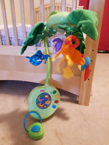 Fisher Price Rain Forest mobile - $22