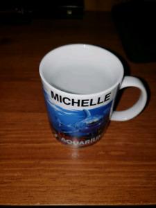 Michelle Ripley's Aquarium souvenir cup