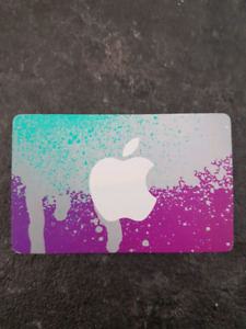 iTunes cards. 20% OFF