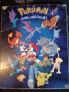 Pokémon poster, figures, cards, and movie Kingston Kingston Area image 1
