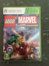 Xbox 360 marvel Lego superheroes game! Console gaming