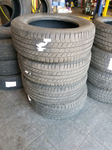 Set of used michelin tires P245/60R18
