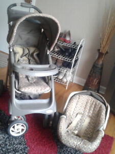 Graco Stroller with Car seat that attaches