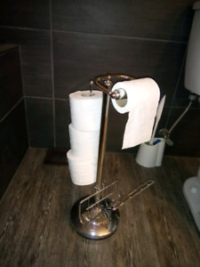 TP Chrome Holder - Dispenser
