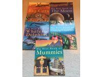 5 assorted kids books