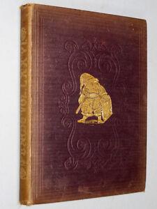 c1879 ANTIQUE PUNCH COMIC SATIRE VICTORIAN CARTOON BOOK
