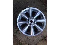 Mini Cooper 17 inch wheel