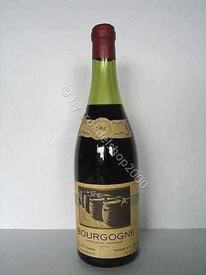 w334) 239,87 €/L 1 Fl. Wein 1961 Bourgogne Rotwein L. Jarousse France Rot 0,75l