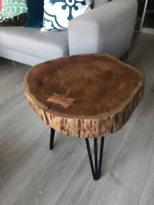 2 Structube Wood Side Table