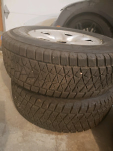 Truck winter tires with Rims