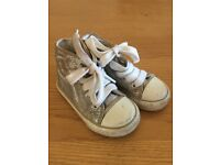 Marks & Spencer Silver Boots Size 5