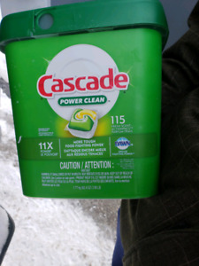 Cascade dishwasher cleaner
