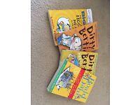 4 kids books big nate, dirty Bertie and Roald Dahl