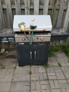 Centro Powerful BBQ and 2 Charged Propane Tanks Included