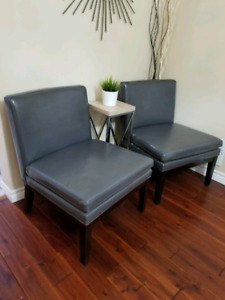 Leather Accent Chairs