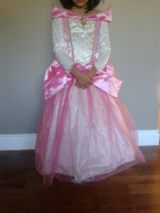 Girl Princes Dress-5/6