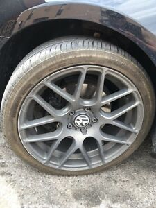 18 inch rims with low profile tires