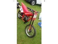 JUNIOR CLASSIC MOTORBIKE MALAGUTI RCX 12 TRIAL BIKE