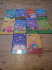 Collection of 10 x peppa pig books £2