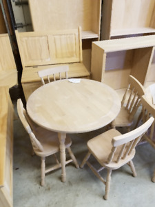 Unfinished Furniture at rock bottom prices!