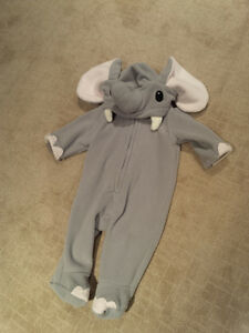 Elephant Halloween Costume 3-6 Months