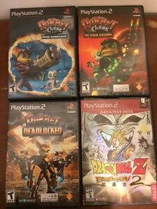 PS2 game pack
