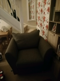 Grey armchair in great condition