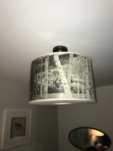 POTTERY BARN DRUM LIGHT FOR SALE!!!