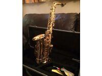 Alto saxophone, great condition.