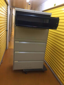 5 Drawer Lateral File Cabinets  and Classuers Available Kitchener / Waterloo Kitchener Area image 4