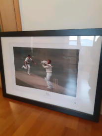 Signed Ian Botham picture