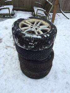 Mercedes Alluminium Rim with Michelin Snow Tires