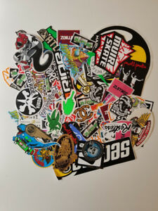 250+ pcs Skateboard/longboard/ski/snowboard/ stickers-collants